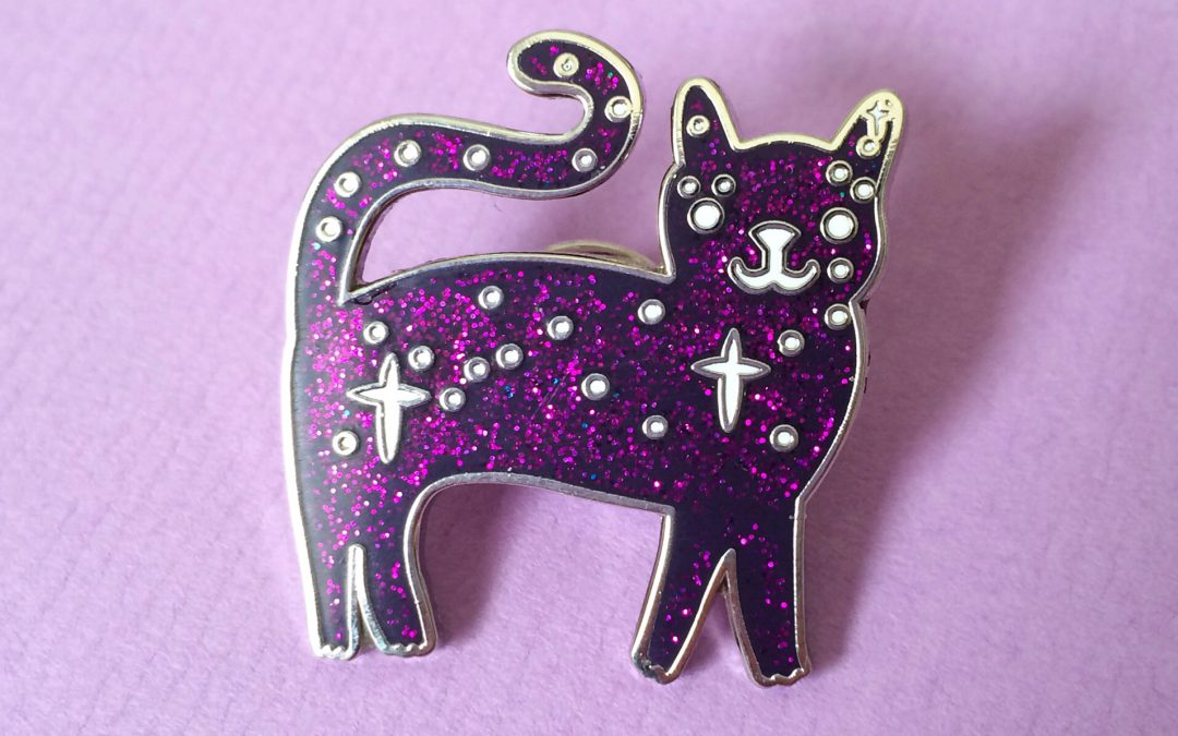 Space Kitty Pins have landed